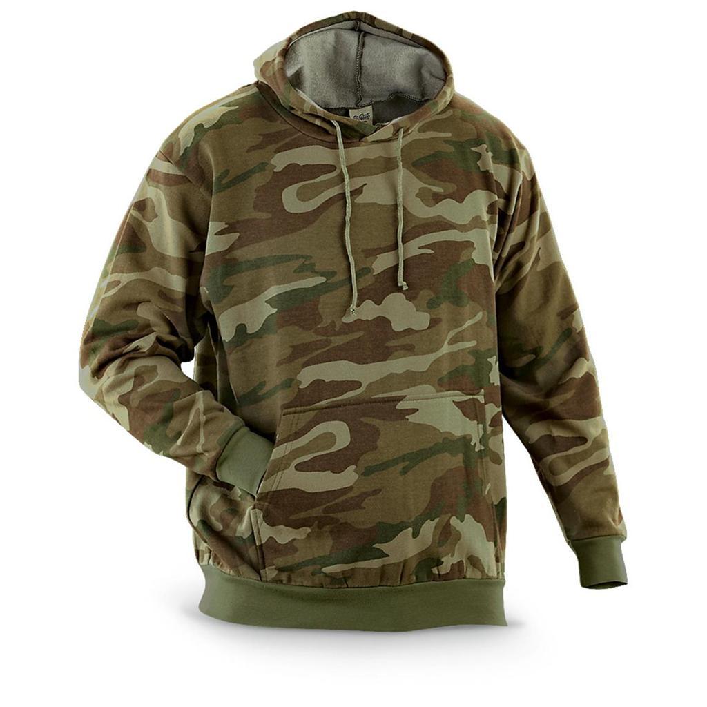 Camo hoodies