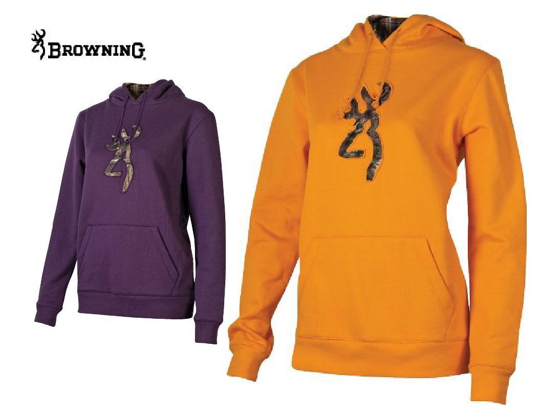 Orange hoodie womens