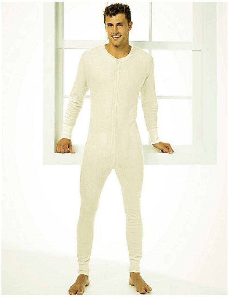 2xl mens hanes thermal 1 pc union suit winter underwear. Black Bedroom Furniture Sets. Home Design Ideas
