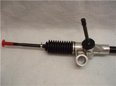 Mustang Ii Manual Steering Rack Amp Pinion 2 Tie Rod Ends