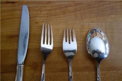 """GORHAM STERLING Celeste Sterling Silver Silverware ~ Salad Fork 7/"""" 38g"""