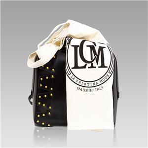 fe764385c9a Valentino Orlandi Italian Designer Black Leather Studded Purse ...