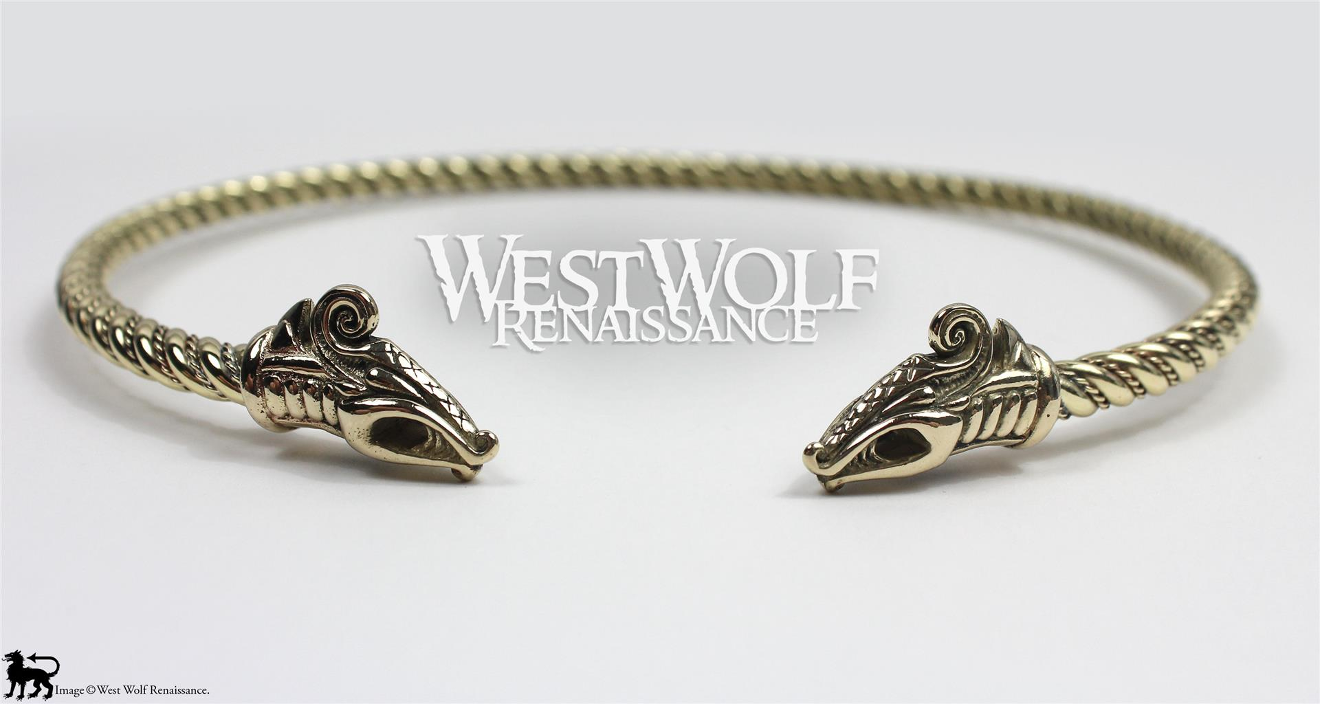 Celtic stylized dragon heads golden torc otc steroids mexico