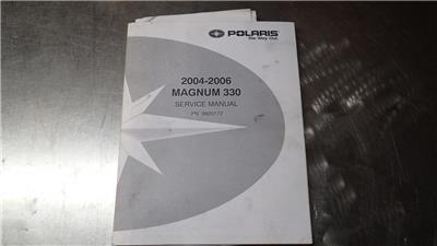 Oem 04-06 polaris magnum 330 service repair shop manual 9920172 | ebay.