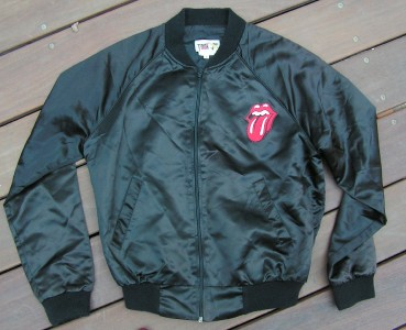 auction is for an Original 1982 Rolling Stones World Tour Satin Jacket