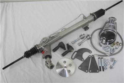 New Mustang Ii 2 Power Steering Rack Pinion Kit W Tie Rods