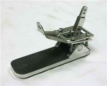 Billet Aluminum Gas Throttle Pedal Floor Mount Street Rod
