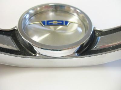 1963 Chevy Steering Wheel Horn Ring 3822914 C 1 OEM 63 Chevrolet