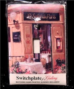U-CHOOSE BEAUTIFUL HAND PAINTED SWITCHPLATE GALLERY SINGLE TOGGLE SWITCH PLATES