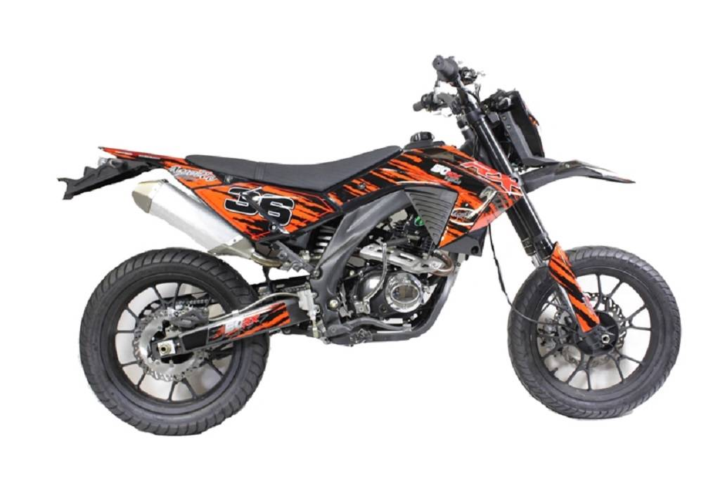 apollo 50rx 50cc supermoto motorcycle learner legal commute bike motorbike new ebay. Black Bedroom Furniture Sets. Home Design Ideas