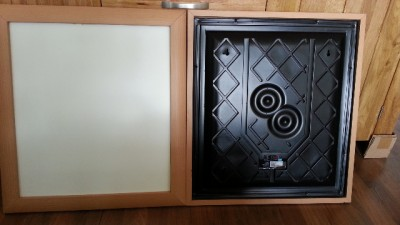 New Boxed Wharfedale Pps 1 Loudpanel 70 Watts Natural Wood