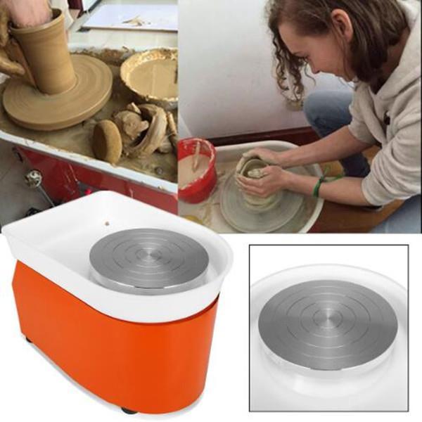 350W 25cm Töpferei Maschine Töpferscheibe Fußpedal Keramik Lehm Ton China Kunst