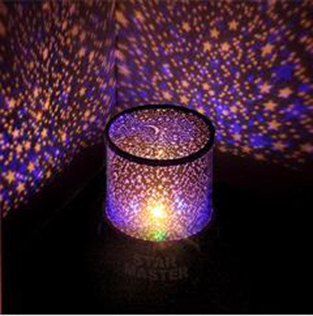 Stars on ceiling night light ceiling light ideas led rotating star projector baby night light nursery children room aloadofball Choice Image