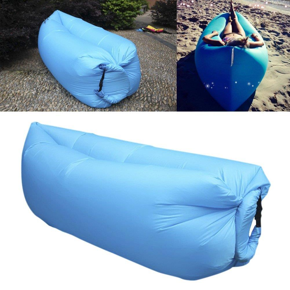 fr gonflable sac canap air camping dormir plage canap si ge transat chaise. Black Bedroom Furniture Sets. Home Design Ideas