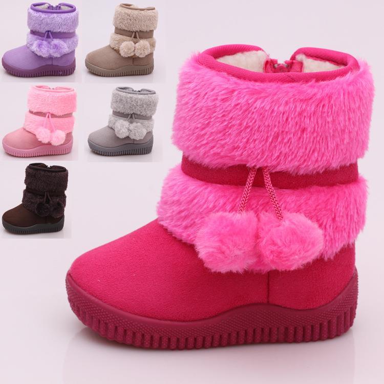 b733a97d5b00 Süße Kinder Baby Mädchen Jungen Winter Schuhe Winterstiefel Boots warm  gefüttert
