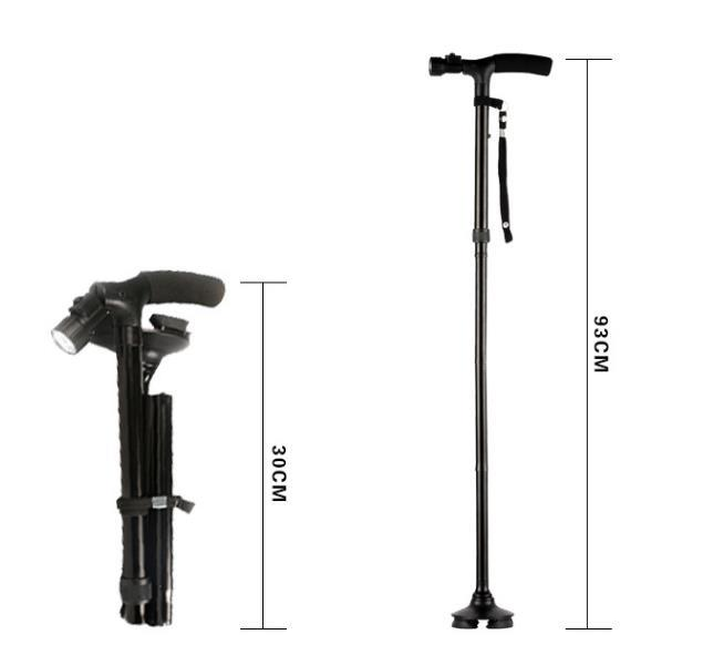Aluminium Magic Cane Adjustable Folding Extendable Walking