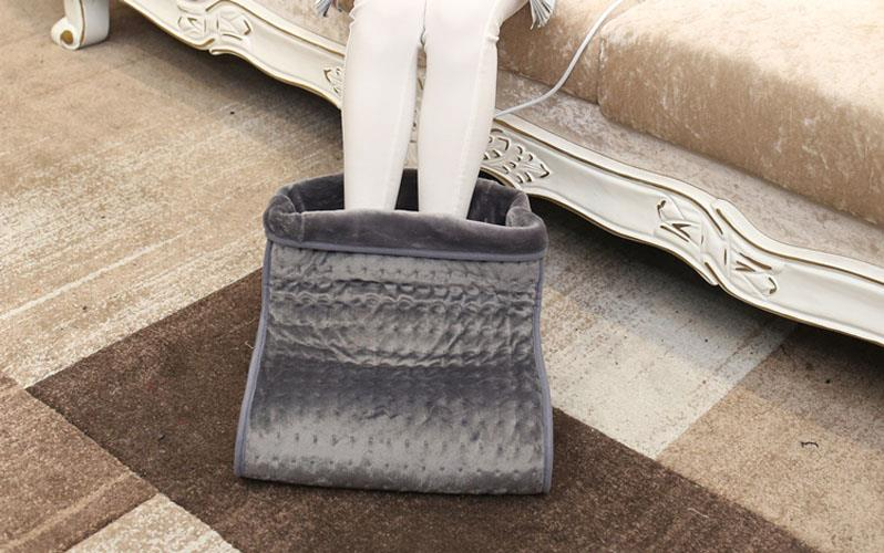 chauffe pied chauffage chauffe pieds lectriques chaleur au pied chaussures ebay. Black Bedroom Furniture Sets. Home Design Ideas