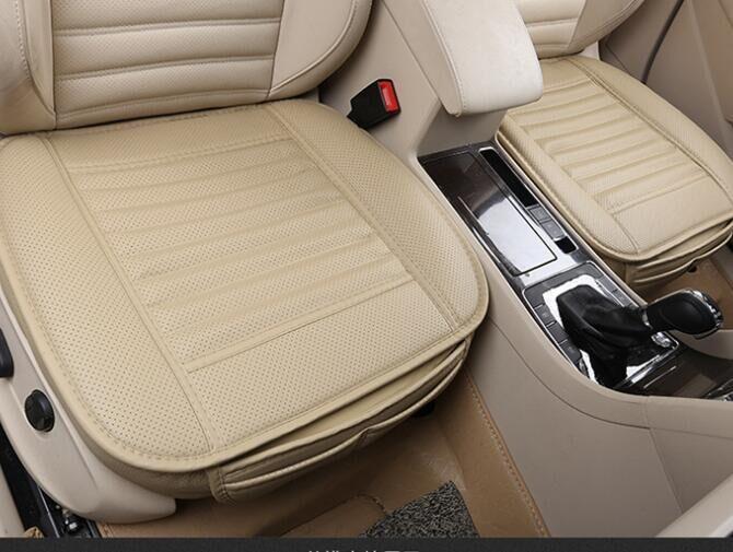 universal seatpad pu leder auto sitzbez ge f r auto auto b rost hle innere ebay. Black Bedroom Furniture Sets. Home Design Ideas