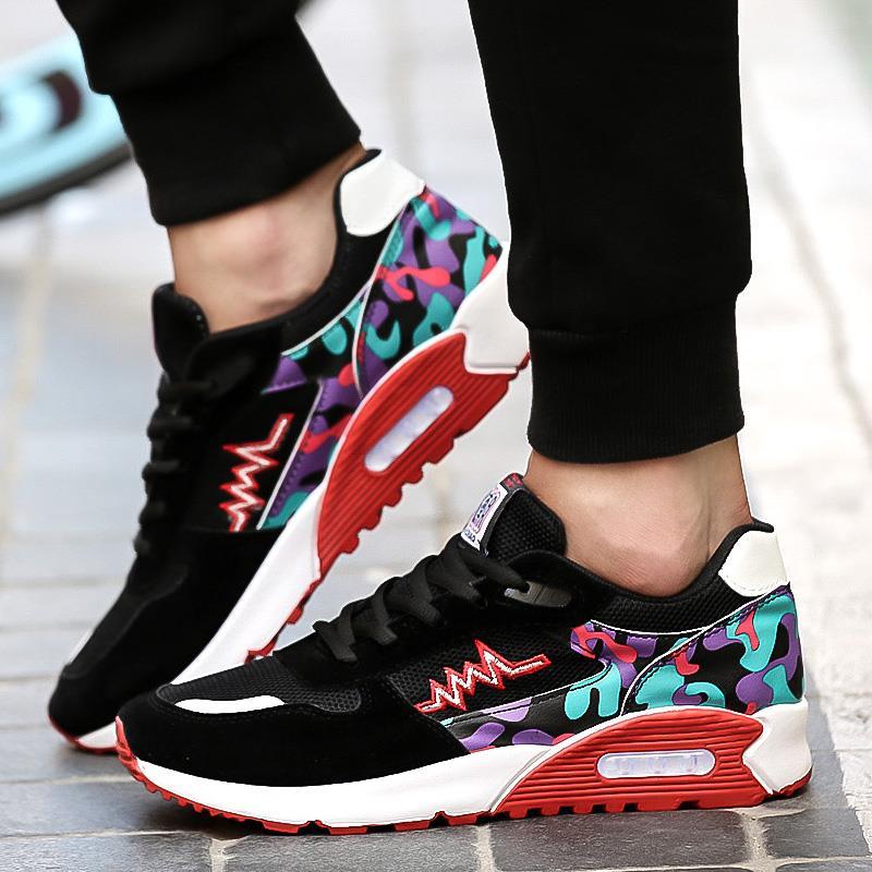 Zapatos De Hombre Zapatillas Moda running gimnasia fitness jogging Trainer