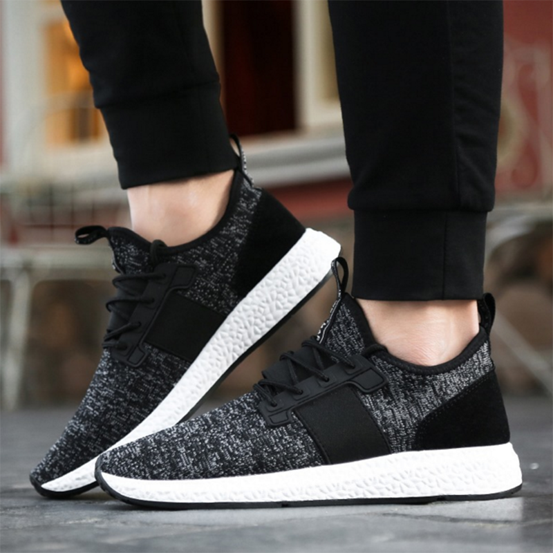 homme chaussures basket course fitness sport sneaker gym taille 39 44 ebay. Black Bedroom Furniture Sets. Home Design Ideas