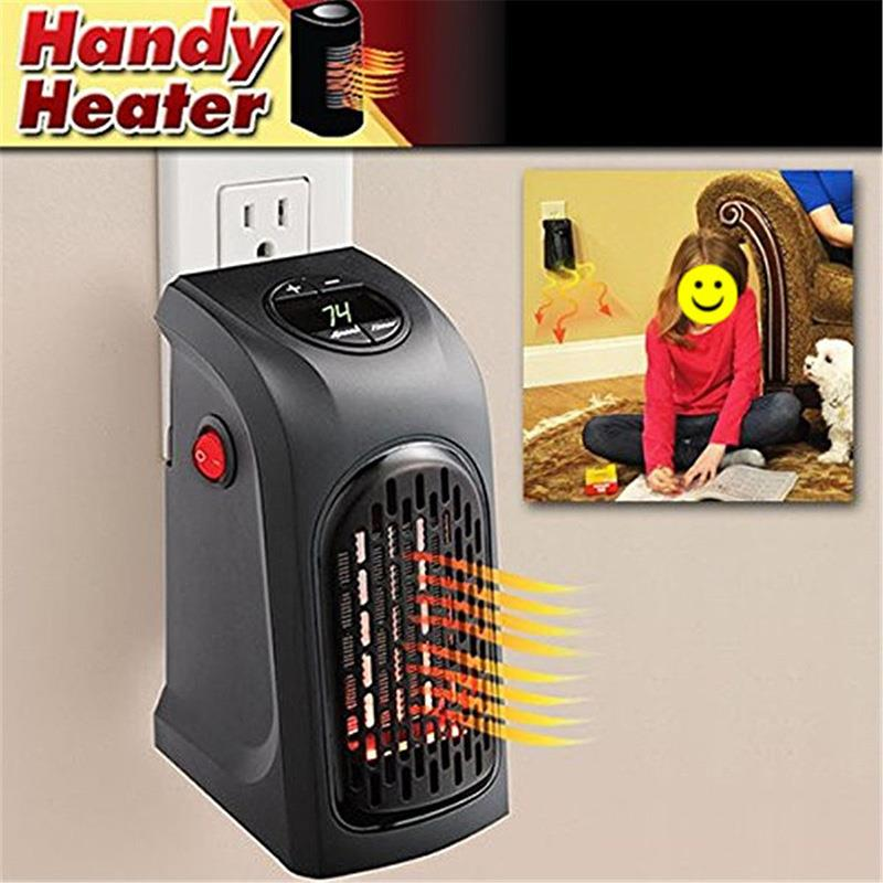 350w handy heater wand steckdose mini heizung tragbar. Black Bedroom Furniture Sets. Home Design Ideas