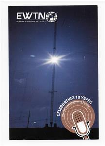 qsl radio ewtn global catholic network 2005 irondale alabama usa 10 years dx swl