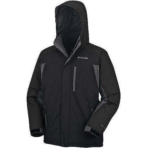 Mens Columbia Omni Shield Ski Jacket Big Tall Black on PopScreen