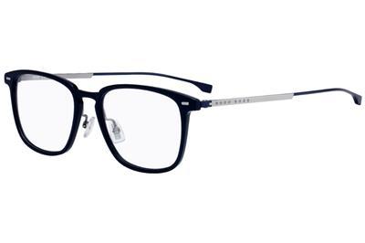 0558ebe1a5 HUGO BOSS 0975 PJP Blue Titanium Brille Glasses Frames Eyeglasses Size 51