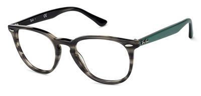 3cf79436b0d Ray Ban RB 7159 5800 Tortoise   Green Brille Glasses Eyeglasses Frames Size  52