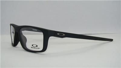 68dea618644 Oakley OX 8127 01 POMMEL Matte Black Brille Glasses Eyeglasses Frames Size  55