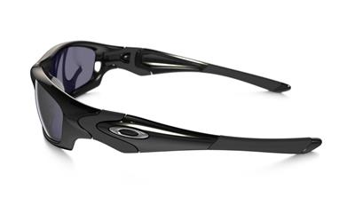 3361c78c4b978 OAKLEY STRAIGHT JACKET 04-325 POLISHED BLACK SUNGLASSES Sports Surfing  Cycling