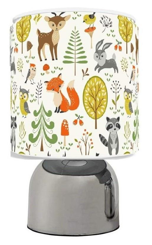 Woodland Animals Nursery Ceiling Light Shade 11 034