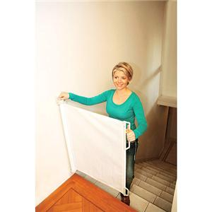dream retractable hide away baby pet safety gate