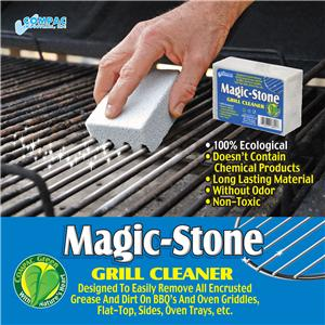 Magic Stone Griddle Grill Bbq Barbecue Cleaner Cleaning