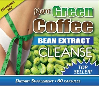 1 Bottle Pure GREEN COFFEE BEAN EXTRACT CLEANSE 800MG Top Seller with Senna