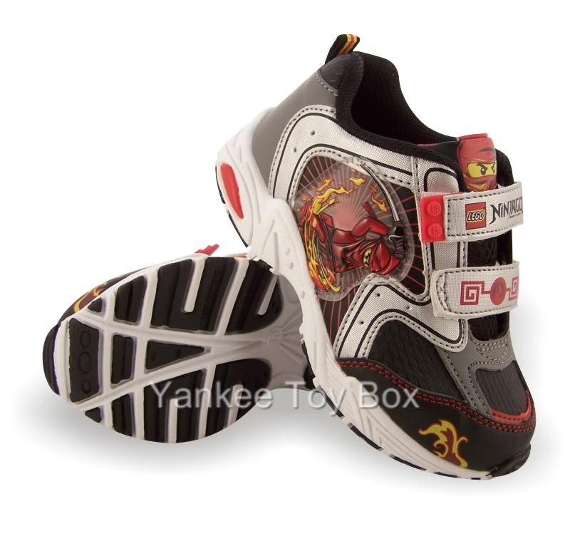 Boys Blackamp; Toddler Silver Shoes Ninjago Lego Athletic 6yvY7gbf