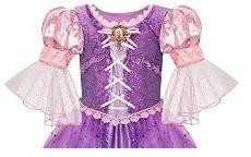 Original Disney Store Exclusive TANGLED RAPUNZEL Dress Embellished Small 5//6 NWT