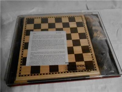 The Woodfield Collection Chess Set With Case Instructions Ebay