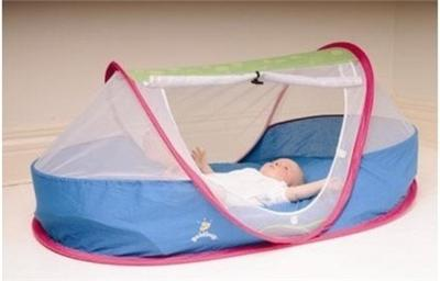 New Goldbug Pop Up Pea Pod Baby Toddler Tent Camping Bed