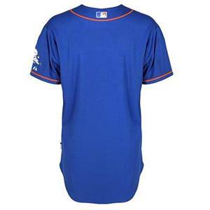 bae161e6953 New York Mets jersey  200 Majestic Authentic on field cool base home ...