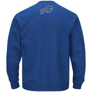 3d72dba0f NWT Buffalo Bills mens Winning Field Goal crew neck blue sweatshirt non  hoodie