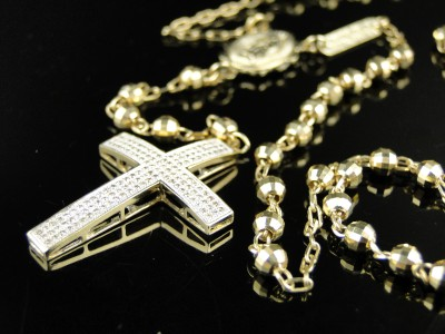 diamond cuban necklace real chains solid miami mm mens ct men s chain nck inch