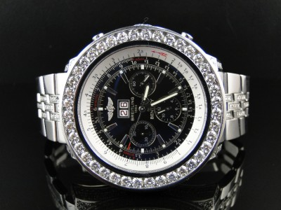 square watches wrist in watch steel motors breitling stainless bentley circa en for collector