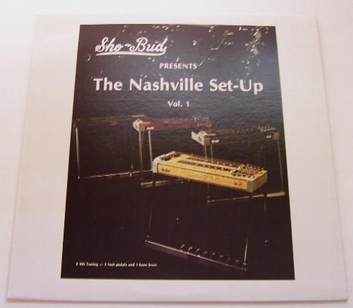 vintage sho bud pedal steel guitar book record collection e9th nashville setup ebay. Black Bedroom Furniture Sets. Home Design Ideas