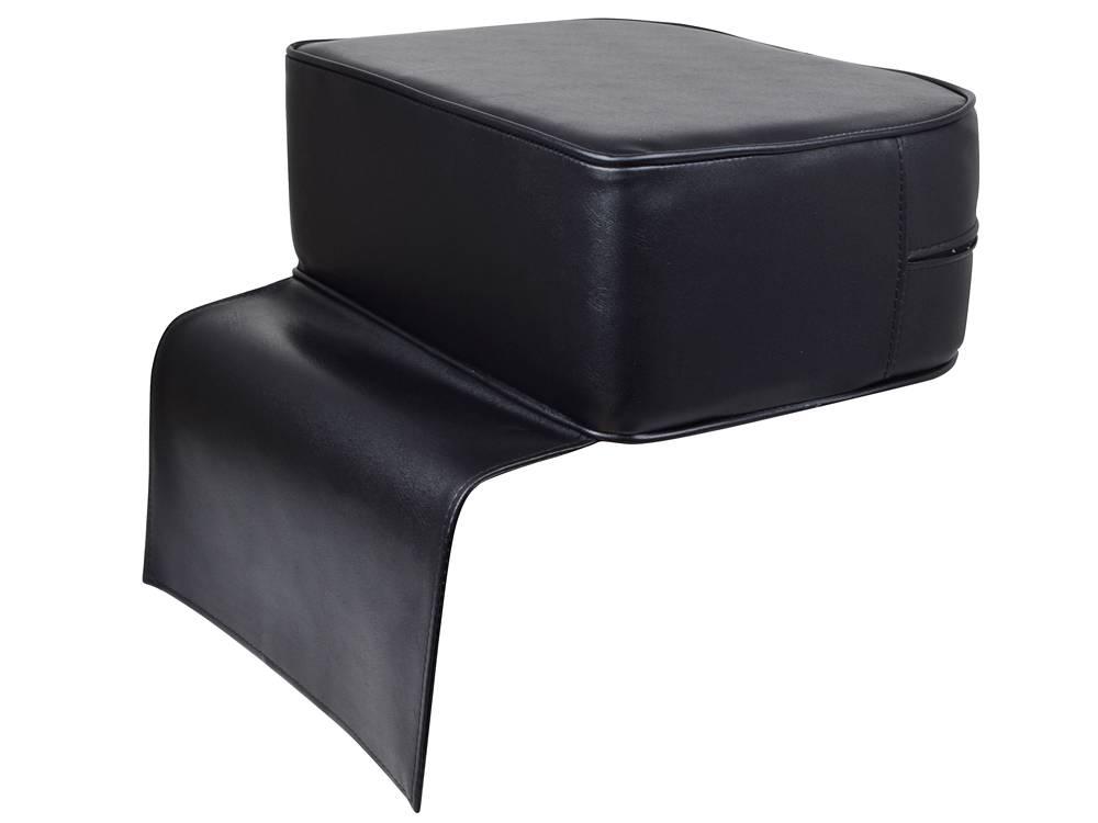 Black Child Booster Seat Kid Barber Chair Kids Children