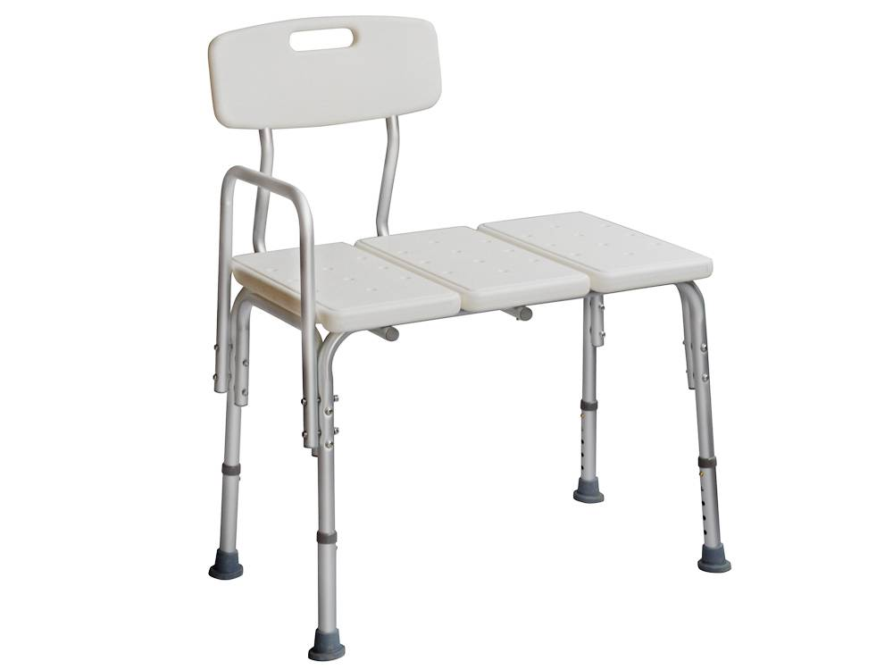 Medical Adjustable Bathroom Bath Tub Shower Transfer Bench Stool ...