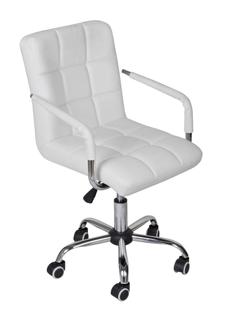 White Modern Office Executive Hydraulic Swivel Chair Computer Desk Task