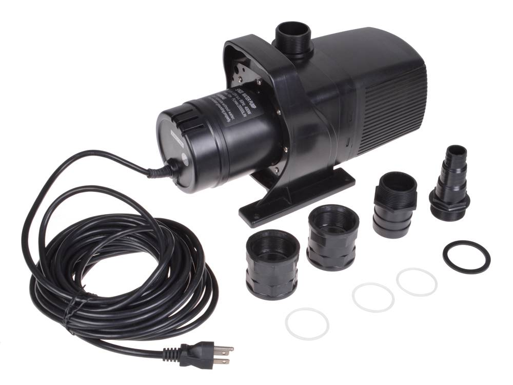 Submersible pond pump water fountain sump waterfall for Pond waterfall pump