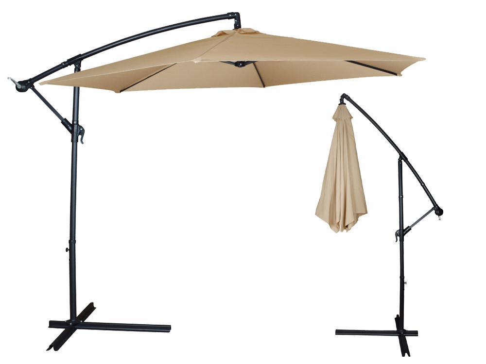 Offset Umbrella Umbrosa Spectra Essential Garden Round