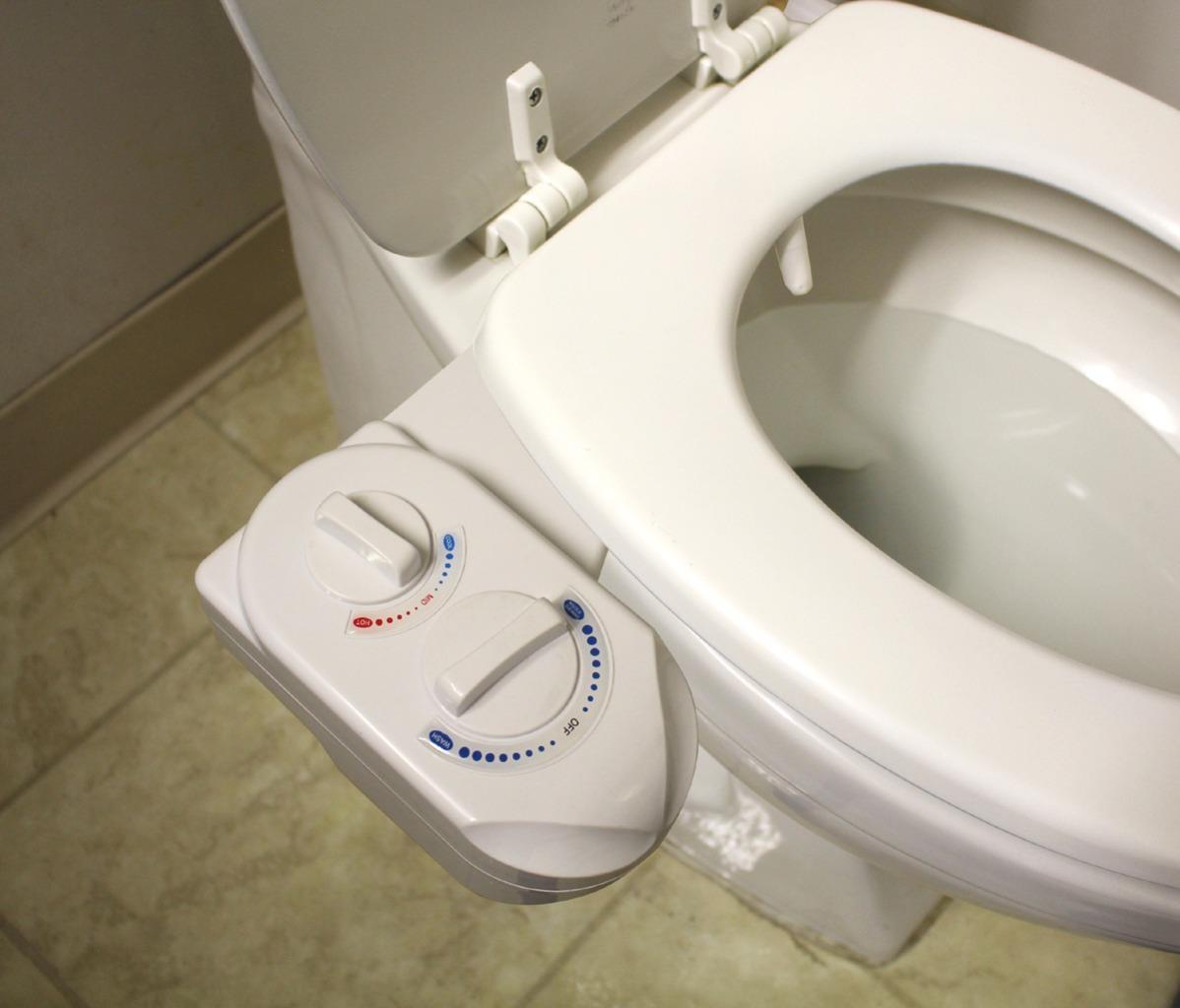 Nozzle Hot Cold Water Spray Non Electric Bidet Bathroom